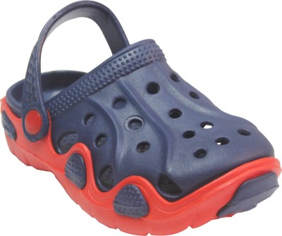 Primes Boys Navy, Red Sandals