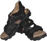 Strive Men Black Sandals