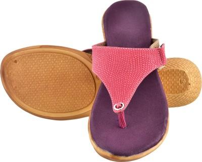 Bright Foot Women Purple Wedges