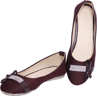 Pu-Aees Girls Brown Sandals