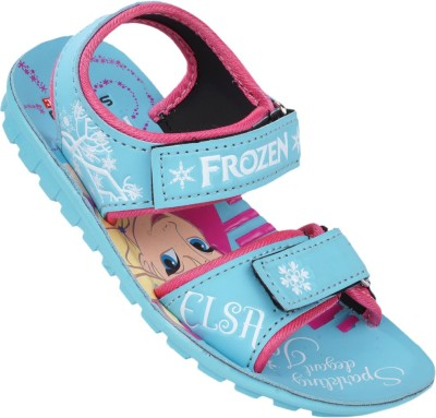 Disney Girls Blue Sandals