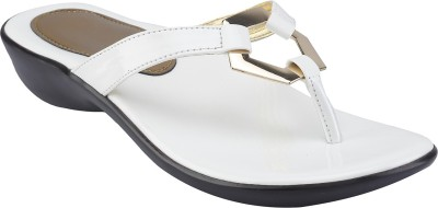 Shoe Bazar Women White Wedges
