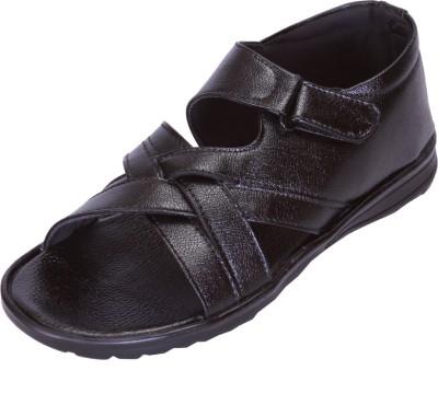 Shoebook Men,S Black Men Sandals