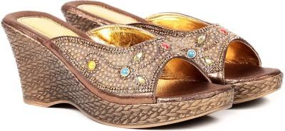 Ka Fashion Girls Tan Sandals