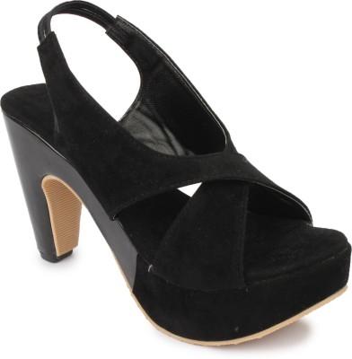 Hanna Women Black Heels