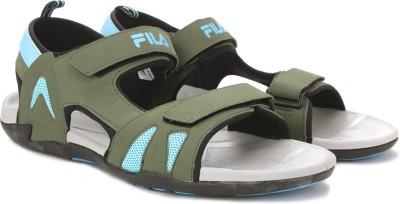 Fila Men Green Sports Sandals