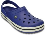 Crocs Men Cerulean Blue/Oyster Sandals
