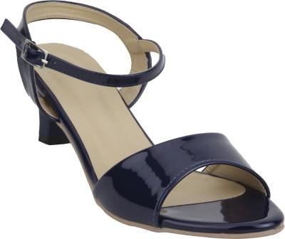 Glitzy Galz Women Blue Heels