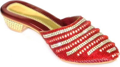 Celebrity Stylish Party and Casual Wear Women Red Heels