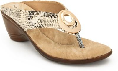 FEET N KNOTS Women Multicolor, Beige Heels
