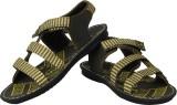 Bersache Men Khaki Sandals
