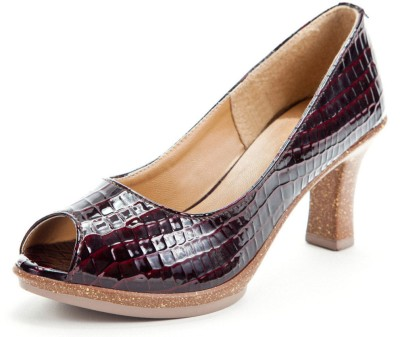 Marc Loire Illuna Berry Women Brown Heels