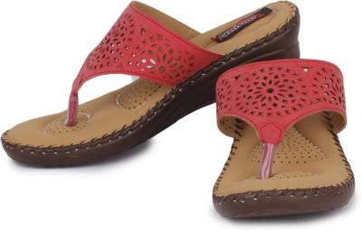 Naisha Women Red Wedges