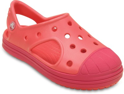 Crocs Baby Boys Orange Clogs