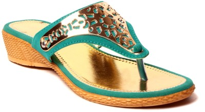 Royal Women Green Flats