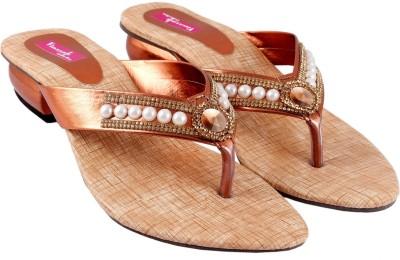 Vinayak Collection Women Brown Heels