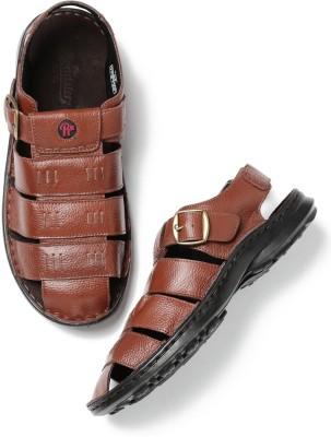 Roadster Men Brown Sports Sandals