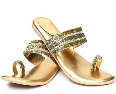 Vaishnovi Women Gold Flats