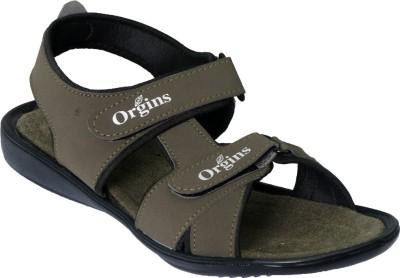 Vittaly Stylish Men Green Sandals