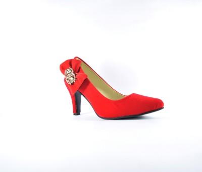 Multi Movin Girls Red Heels