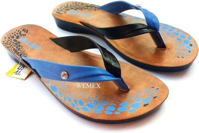 Wemex Women Blue, Black, Beige Flats