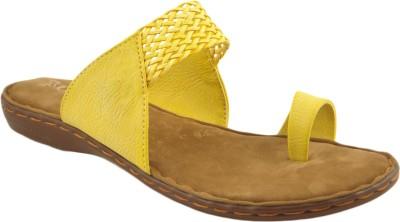 Lsquad Slip-On Women Yellow Flats