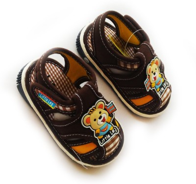 Stuff Jam Baby Boys Brown Sandals