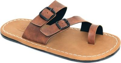 FUNK Men Camel Sandals
