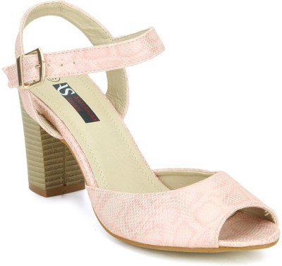 American Swan Women Pink Heels
