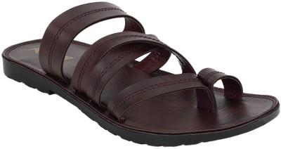 KZAARA Men Brown Sandals