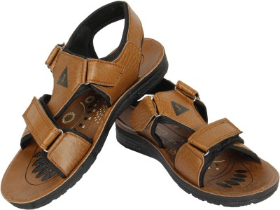 Vivaan Footwear Brown-227 Men Tan Sandals