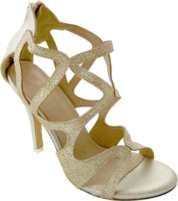 destilo Girls Gold Sandals