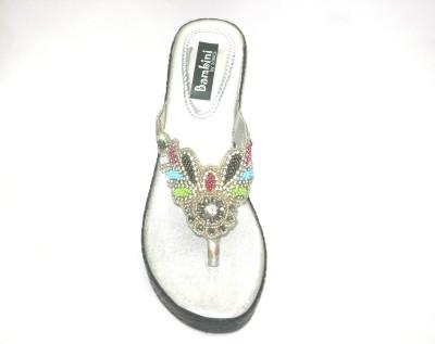 Bambini Women Silver Wedges