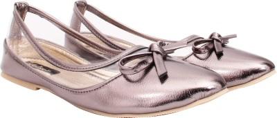 Welson Women Grey Flats
