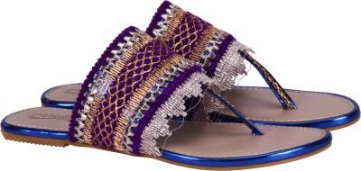 Fashion Mafia Women Blue Flats