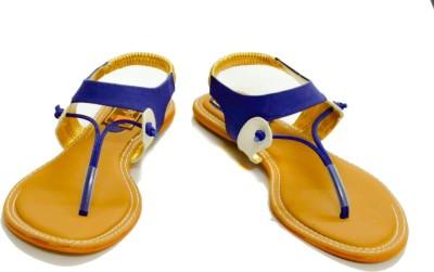 Relexop Women Blue Flats