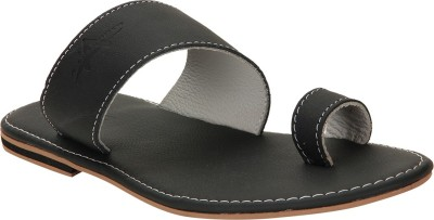 Aashboosh Men Black Sandals