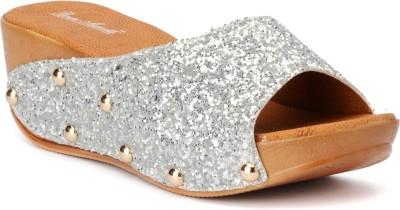 Bruno Manetti 3064 Women Silver Wedges