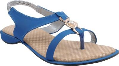 BEE FASHIONABLE Girls Blue Heels