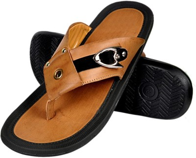 Urban Woods Men Camel Sandals