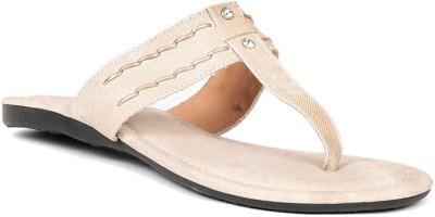 Lyc Women Beige Flats