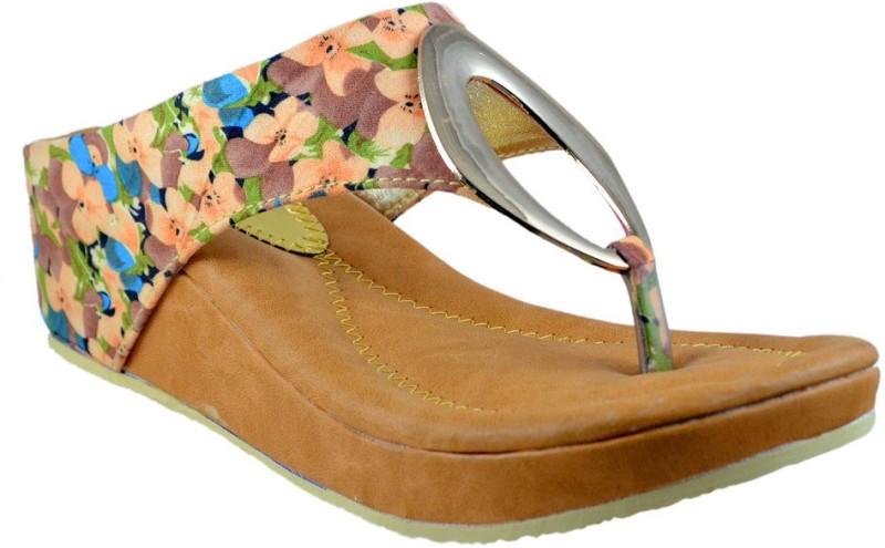 Mega Steps Women Multicolor Flats