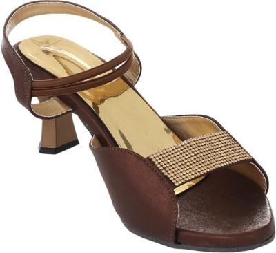Bare Soles Women Brown Heels