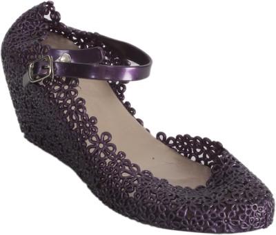 Keyza Women Purple Wedges