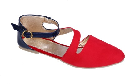 Fashion Mafia Women Red Flats