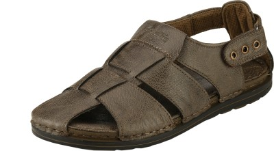 Ronaldo Men Brown Sandals
