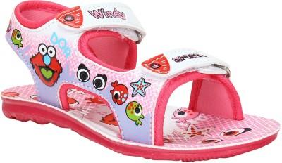 WINDY Boys Pink Sandals