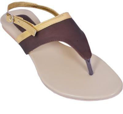 Creative Style Women Brown Flats