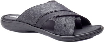 Dolphin Miles Extremely Comfortable Men Black Sandals
