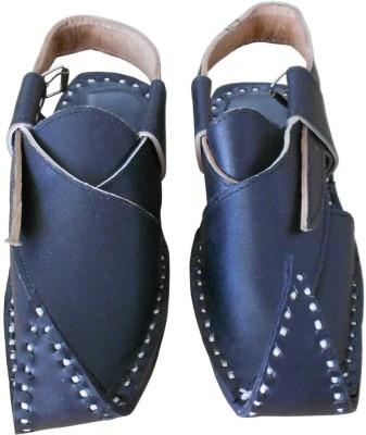 Kalra Creations Men Blue Sandals
